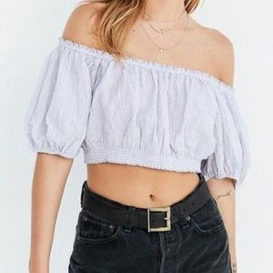 ❤️3 for 90❤️ Kimchi Blue Urban Outfitters crop top